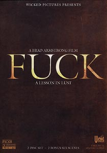 Fuck    (Brad Armstrong Film) 2 Disc Set Front